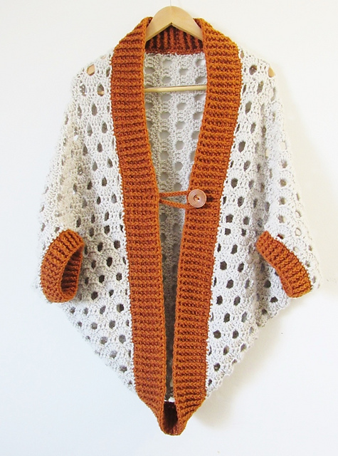 Ravelry 7 Hour Cocoon Cardigan Pattern By Crochetdreamz