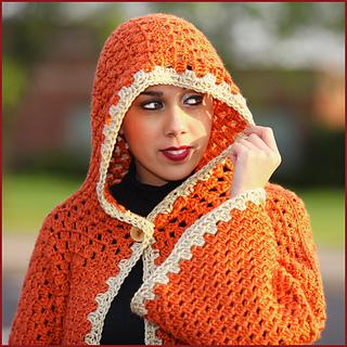 Ravelry: Hexagonal Hooded Cardigan pattern by Nadia Fuad