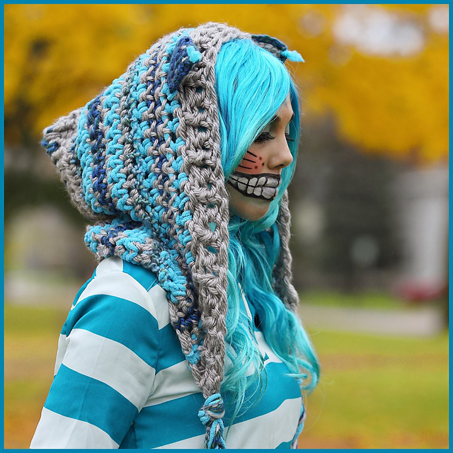 Ravelry Cheshire Cat Hoodie Pattern By Nadia Fuad