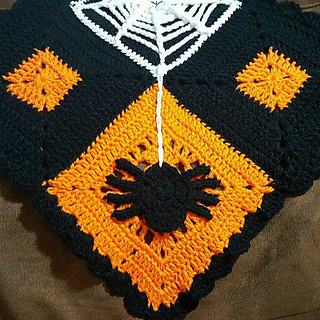 Ravelry Halloween Table Runner Pattern By Nadia Fuad
