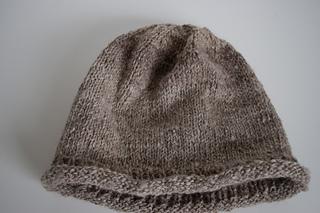 747a15ace21e6a Ravelry  Quicky Rolled Brim Hat pattern by Nancy Elizabeth Munroe