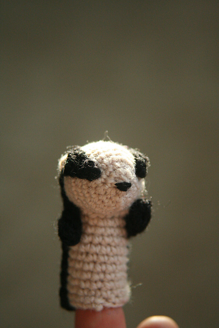 Ravelry Charlie The Badger Puppet Pattern By Rebecca Beam