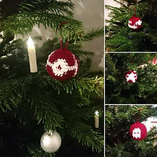 ravelry nerdy christmas ornaments weihnachtsbaumkugeln pattern by ariane bellmer - Nerdy Christmas Ornaments