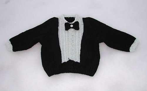Ravelry Lil Tux For Baby Pattern By Judy Lamb