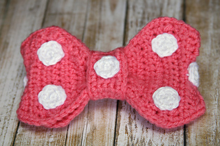 Ravelry Minnie Mouse Bow Pattern By Nerdy Needle Notions