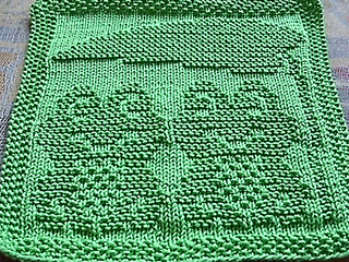 Ravelry: Spüli Froschpaar / Dishcloth Frog Couple pattern ...