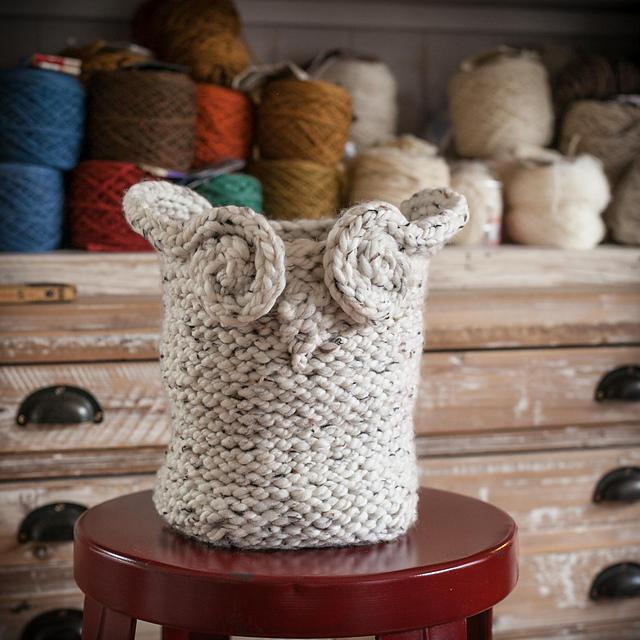 Ravelry Owl Basket Pattern By Nicole F Cox
