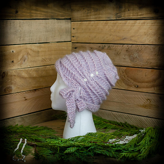 13f2723a38d38 Ravelry: Cora Cloche Hat pattern by Nicole F. Cox