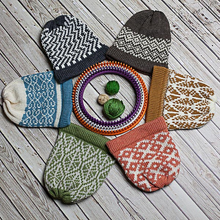 c35635ca622 Ravelry  Fair Isle Hat Collection I pattern by Nicole F. Cox