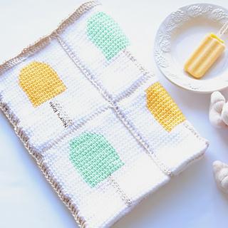 Ravelry Creamsicle Crochet Baby Blanket Pattern By Noorain Nizami