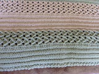 Ravelry herringbone afghan to crochet pattern by bernat design studio nurseauds dt1010fo