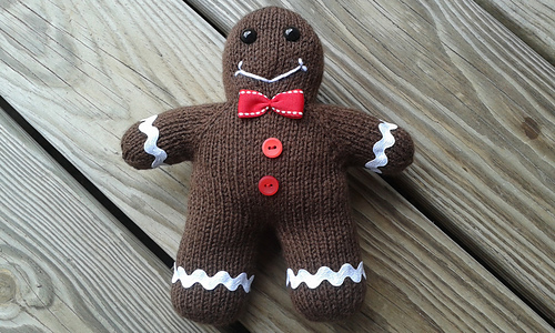 Ravelry Gingerbread Boy Pattern By Sara Elizabeth Kellner