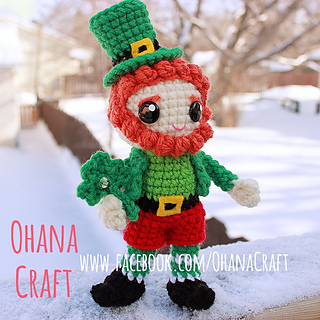 Ravelry  Leprechaun Crochet Pattern pattern by ohana craft cbf371c07d3