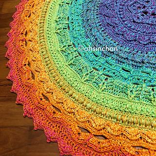 Ravelry Unicorn Mandala Cal Pattern By Anna Nilsson