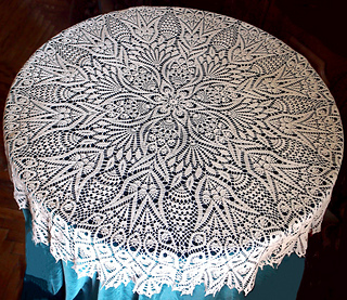 Ravelry Grand Lace Tablecloth Pattern By Olga Gulidova