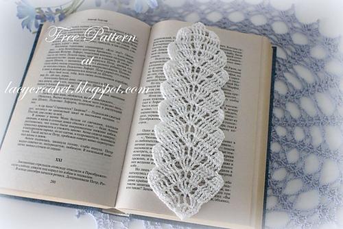 Ravelry Leaf Bookmark Pattern By Olga Poltava Best Crochet Bookmark Pattern