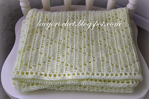 Ravelry Diamond Stitch Baby Blanket Pattern By Olga Poltava