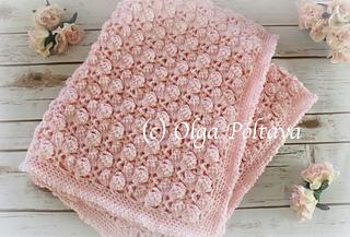 5f3afd0cb Ravelry  Pink Marshmallows Blanket pattern by Olga Poltava