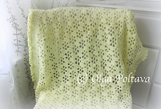 21bc447ce Ravelry  Buttercups Baby Blanket pattern by Olga Poltava