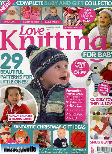 Knitting For Babies Magazine : Ravelry love knitting for baby october patterns