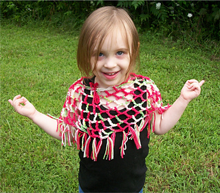 Ravelry: Easy Lacy Poncho Skirt for Toddlers and Adults
