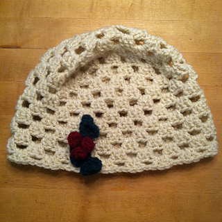 Ravelry  Simple Granny Square Hat pattern by Cait St. George ea10e49cc8c