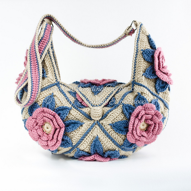 Ravelry Hippie Shoulder Bag Pattern By Natalia Kononova