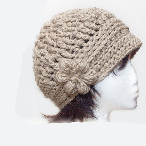 Ravelry Cloche With Flower Braid Trim Pattern By Pd Designs