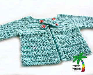6dbf95e5d Ravelry  X Stitch Baby Cardigan Sweater 15-186 pattern by Maria Bittner