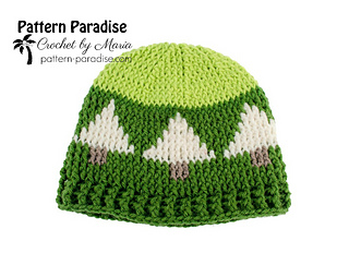 Ravelry  Christmas Tree Hat pattern by Maria Bittner c28de2f6f21