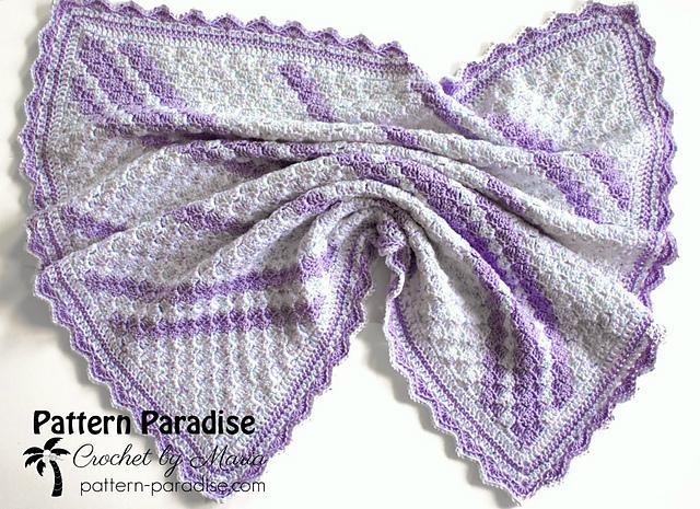 Confetti C2C Baby Blanket pattern by Maria Bittner
