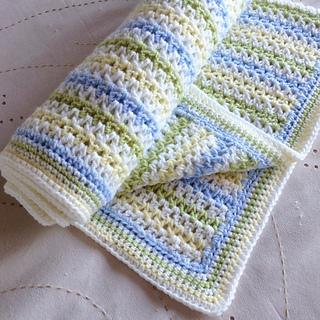 Ravelry Spring Field Blanket Pattern By Sam Piper