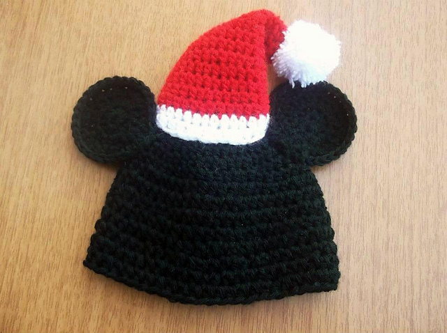 Ravelry Mickey Mouse Christmas Hat Pattern By Pattern Studio