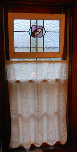 Ravelry Knitted Curtain Pattern By Joanne Seiff