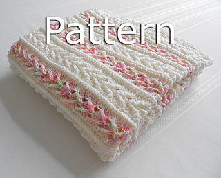 Ravelry Avalon Baby Blanket Pattern By Mary Robinson