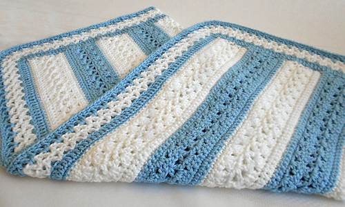 Ravelry: Fairfax Baby Blanket pattern by Mary Robinson