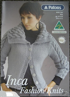 Ravelry: Patons #1264, Inca Fashion Knits - patterns
