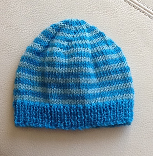 fbbc65c5d5d Ravelry  Pretty Simple Baby Beanie Hat pattern by Hayley Foord