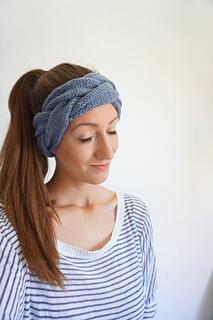 89d6bd462eaa96 Ravelry: Headband / Stirnband Geflochten pattern by Angelina Zimmer