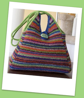 Ravelry: Pyramid Tote - Upgraded Edition pattern by Jennifer Pace, Pipps...