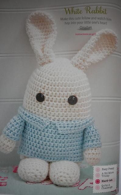 Ravelry Little White Rabbit Pattern By Tash Bentley