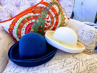 Basic Knit and Felt Hat pattern by PoChan Boysen