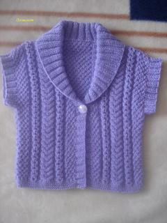 Ravelry Design H Girls Shawl Fur Collar Waistcoat Vest