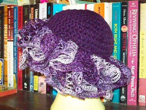 Ravelry Grape Swirl Hat Pattern By Pollyanna Perdue