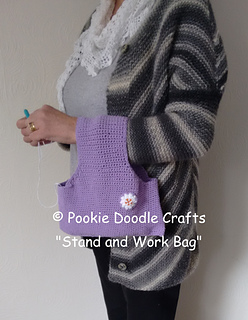 Ravelry Stand And Work Yarn Holder Bag Pattern By Pookie