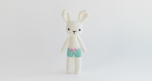 64714d126d50c1 Ravelry  Free Bunny Pants Crochet Amigurumi Pattern pattern by J.A. ...