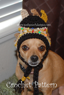 435571fcbfa Ravelry  Native American Dog Hat pattern by Sara Sach