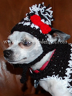 edde7af0fd0 Ravelry  Houndstooth Dog Hat Small pattern by Sara Sach