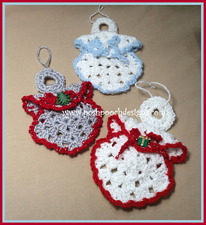 Ravelry Granny Square Angel Ornament Pattern By Sara Sach