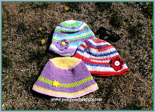 ea83da88185 Ravelry  Ladies Summer Bucket Hat pattern by Sara Sach